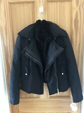 Emporio Armani Puffer Jacket Size 40 Italian Or 8UK With Rabbit Detachable Vest