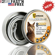 Dewel Flea and Tick Collar For Cat Anti-insect 8 Month Protection Us Fast Ship