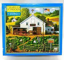 Catchin Bugs Charles Wysocki's Americana 1000 Piece Jigsaw Puzzle 2002 MB USA