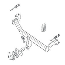 Genuine Suzuki Jimny SN Tow Bar Wiring Harness Adapters 990E0-62J41-000