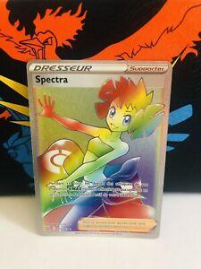 Carte Pokémon Spectra Rainbow Full Art 175/163 Styles de Combat FR Neuve