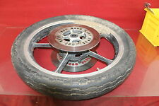 82 Yamaha Virago 750 (bike 1088) Oem Front Wheel Bad Tire W/ Rotors