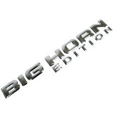 CHROME METAL BIG HORN EDITION OEM EMBLEM FOR TRUNK HOOD DOOR