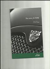 JAGUAR S TYPE 2.5 V6/V6 SPORT/SE,3.0V6 SPORT/SE,4.2 V8 SE/'R' PRICE LIST JAN2002