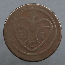 Penang, Malaysia. One Cent Or Pice, 1786. Uniface. Scarce.