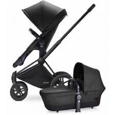 Cybex Priam 2-in-1 Trekking Stroller - Matte Black/Black Beauty Denim Open Box!
