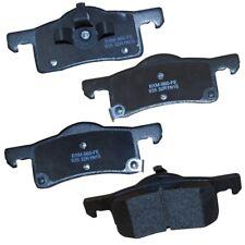 Disc Brake Pad Set-Stop Semi-Metallic Brake Pad Rear Bendix SBM935