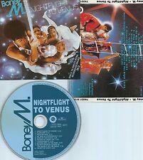 BONEY M-NIGHTFLIGHT TO VENUS-1978/1994-GERMANY-HANSA 74321 21269 2-CD-MINT-