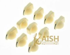 10 Pcs Cream Guitar AMP Amplifier Knobs Effect Pedal Mini Chicken Head Knobs