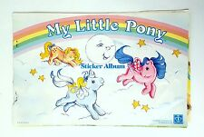 Rare Vintage Hasbro G1 My Little Pony Mail Order Sticker Album Book ~ Used