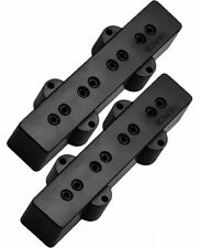DiMarzio DP123 Model J Hum-Cancelling J-Bass Neck and Bridge Pickups, Black, NEW