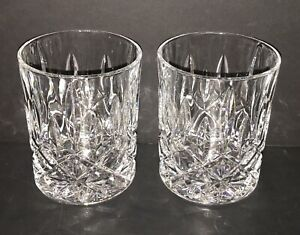 SET of 2 RIEDEL SPEY Whisky DOUBLE OLD FASHIONED Crystal Glasses