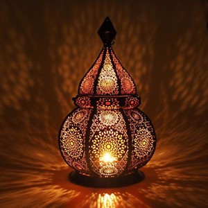 Gadgy � Moroccan Lantern 36 cm l Lantern for candles and Electric Lights l and l