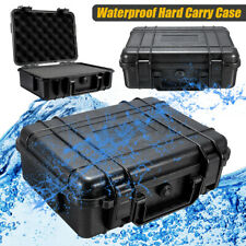 Waterproof Hard Carry Tool Case Bag Storage Box Camera Photography w/ Sponge Box