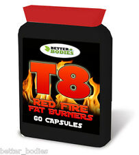 60 T8 Strong Fat Burner Burners Diet Weight Loss Pills Slimming Tablets Legal