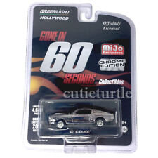 Greenlight Gone in 60 Seconds 1967 Ford Mustang Eleanor 1:64 Black Chrome 51227