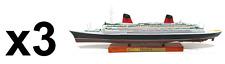 Set of 3 Transatlantic Boats Le France 1:1250 ship Editions Atlas