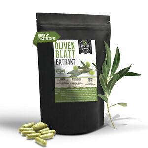 120 Kapseln Olivenblatt Extrakt | 20% Oleuropein | laborgeprüft | ohne Zusätze