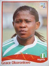 Panini 74 Grace Okoronkwo Nigeria FIFA Women's WM 2011 Germany