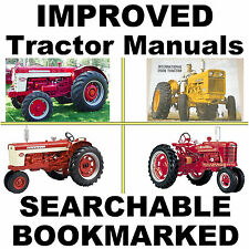 IH Farmall 460, 560, 606, 660 & 2606 Shop Service Repair Manual - SEARCHABLE CD