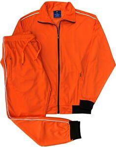 Men's Classic Tracksuit Jogger Premium Track Jacket & Jogger Track pants Outfit