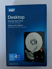 "New Western Digital Blue 4TB Desktop 3.5"" Sata Internal Hard Drive 64MB Cache"