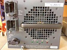 Cisco, WS-CAC-6000W, 341-0092-03, 6000W AC Power Supply ,WS-C6509-E