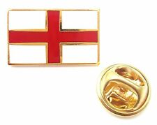England Saint George Cross Oblong Quality Enamel Lapel Pin Badge T864
