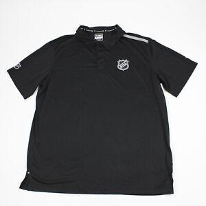 New York Islanders Fanatics  Polo Men's Black Used