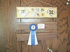 Hand Made Ribbon Rack for ribbon winners, 4-H, horse show ,sports, etc.