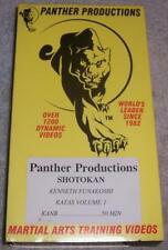 Shotokan Kenneth Funakoshi Katas Volume 1 VHS Video Panther Martial Arts