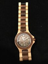 Wewood Men's Watch 2-Tone Unworn New Battery