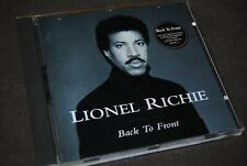 "LIONEL RICHIE ""Back To Front"" CD / MOTOWN - 530 018 - 2 / 1992"