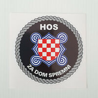 CROATIA Stickers HRVATSKA 16 different designs Brand New - HOS ZA DOM SPREMNI