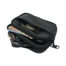 Running Sport Waist Bag Sheepskin Leather Money Pocket Multi-Function Change Bag