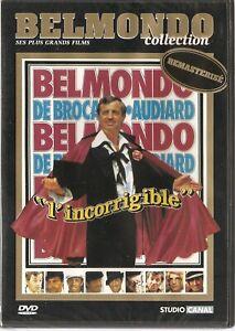 "DVD ""L'INCORRIGIBLE"" Collection Belmondo NEUF SANS BLISTER"