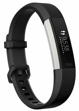 Fitbit Alta HR Black/Stainless Steel Activity Tracker - Small