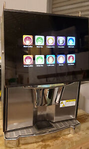 Coffetek Vitro Fresh Brew Tea/Instant Coffee/Choc. Hot Drinks Vending Machine