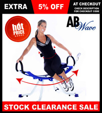 AB Cardio Wave Exercise Swing Crunch Home Gym Exercise Good for Woman Was $84