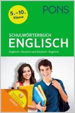 NEU: PONS Schulwörterbuch Englisch - Wörterbuch für die Schule Klasse 5-10
