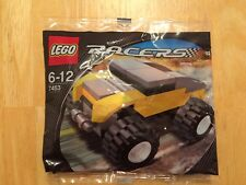 Lego #7453 Brickmaster Yellow Racer  2007 New in sealed package