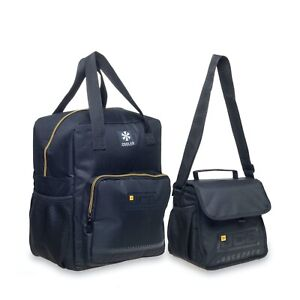 Adults/Mens JCB Set of 2 Coolbags Lunch Bag Thermal Insulated Cool Box Bag