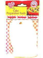 Pack of 3 Cake Preparation Tools - Dough Folder Flour Scraper Tooth Scraper