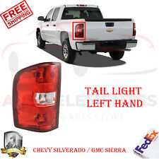 Tail Light LH For CHEVY SILVERADO / GMC SIERRA 1500 07-13 / SIERRA 3500 HD 07-14