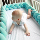 Baby New Soft Guardrail Bed Crib Collision Creep Bumpers Safety Rail Protector