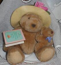 Bearnadette Cuddlesworth and Baby Fuzzmore Hallmark Bear Collection Best Friends