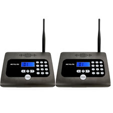 2xRetevis Rt57 Wireless business Calling Intercom System Two-way communication