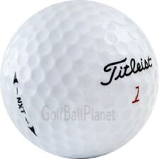 72 Aaa Titleist Nxt Used Golf Balls 6 Dozen | Recycled Golf Balls + Free Tees