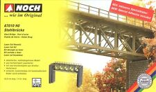 Noch Steel Bridge with Piers 67010 HO & OO Scale