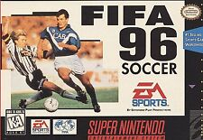 FIFA Soccer 96 (Super Nintendo Entertainment System, 1995) Game Only